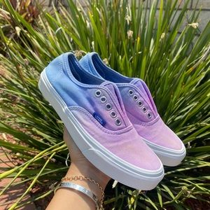 Vans Authentic Ombre Sneakers Size 5.5 Women
